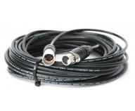 DMX-kabel. 5-polig. 25 m [TOUR-PLEX]
