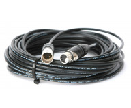 DMX-kabel. 5-polig. 0,5 m [TOUR-PLEX]