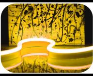 Led Neon Flex GUL 24V F21-HB