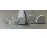 Profil Ribbon Flex 16.2mm, Acryl Top Dome, 1m