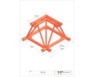 M520 FCP21 Folding 2-vägs hörn 90°