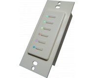 Ultra 5-Wire RGB 6-Button White