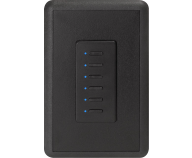 Ultra Station 2-wire, 6- button, Black