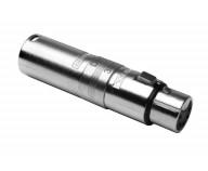 XLR Adapter. 3-polig hane till 5-polig hona