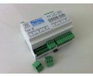 DSD6-DIN DMX-splitter 6-vägs Wago DIN