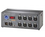 DST8-3 DMX-splitter 8-vägs 3-pin DIN/Väggmontage