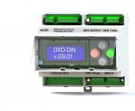 DXD-DIN DMX-merger 1-2 DIN