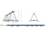 M520 FTP Folding 1,6m