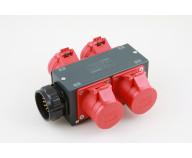 MC-SPLIT4 SX Splitbox Socapex Hane till 4xCEE16A 4p