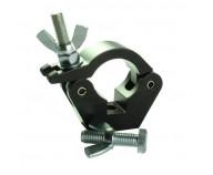 T58011 Slimline Hook Clamp med Bult M12 Svart
