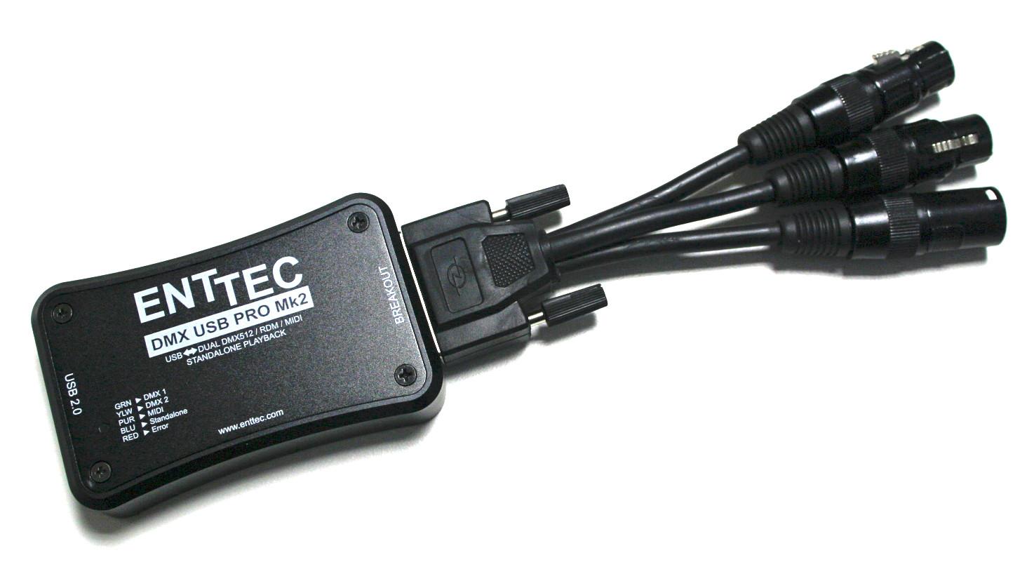 DMX USB PRO MK2 - Interlite